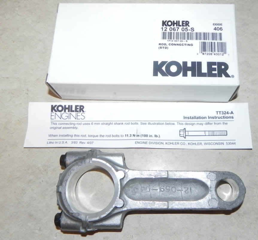 Kohler Connecting Rod - Part No. 12 067 05-S Standard Rod