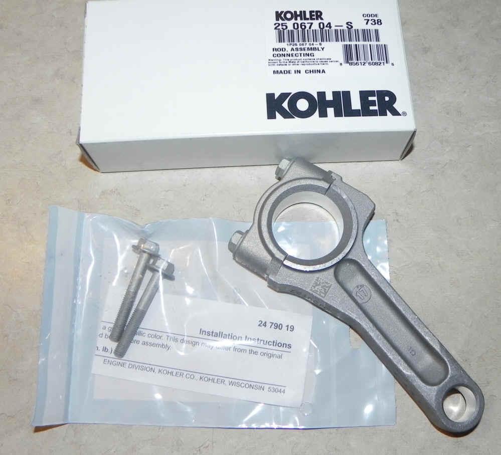Kohler Connecting Rod - Part No  25 067 04-S fka 24 067 34-S Standard Rod