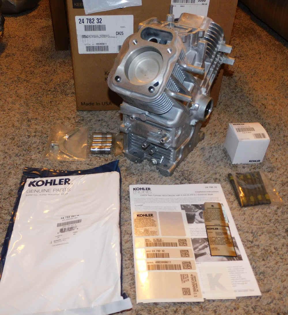 Kohler Horizontal Mini Block - Part No. 24 782 32