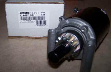 Kohler Electric Starter - Part Number 12 098 22-S