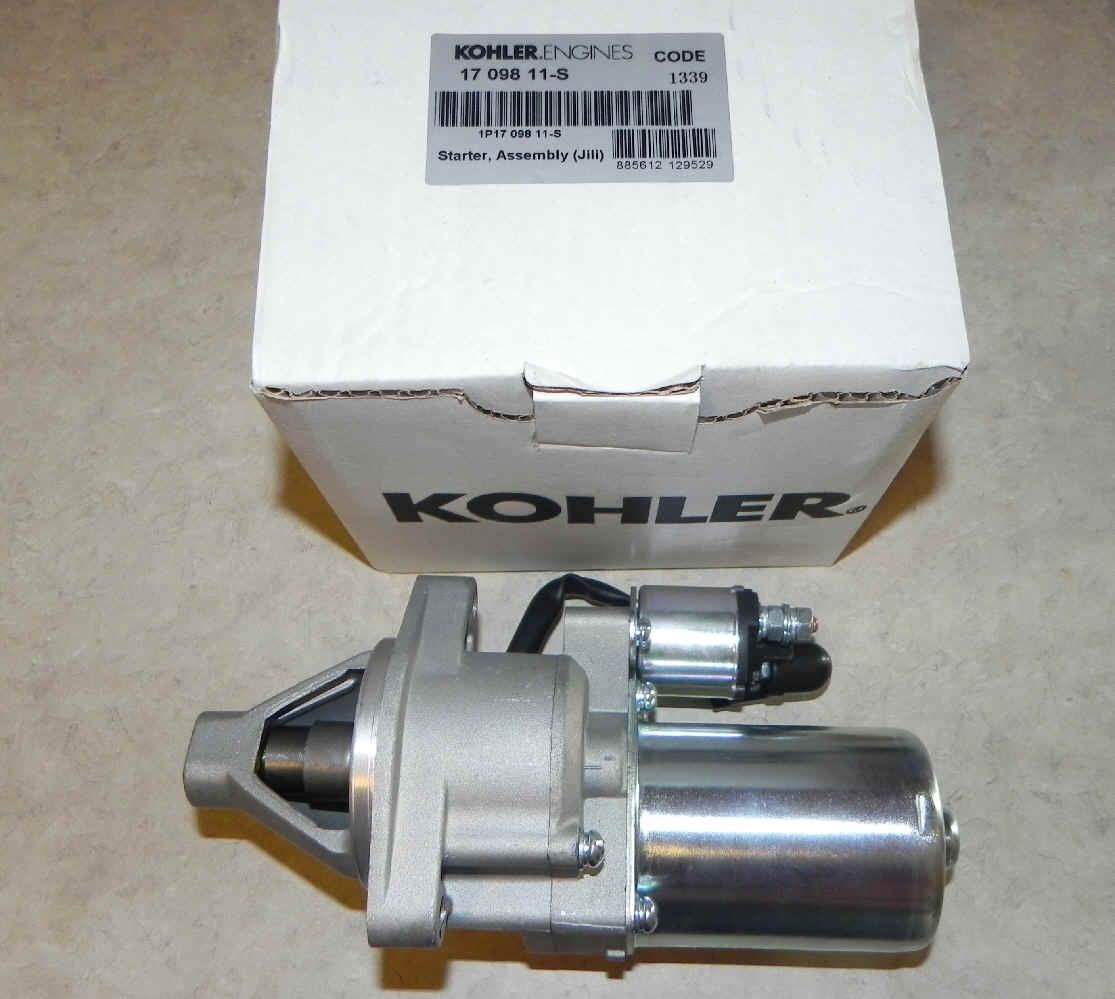 Kohler Electric Starter - Part Number 17 098 11-S