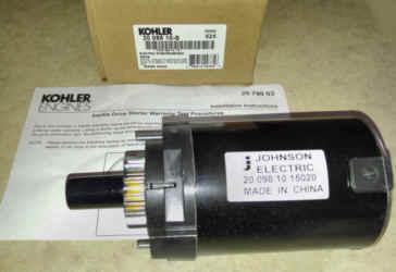 Kohler Electric Starter 20 098 10-S