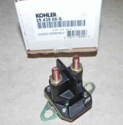 Kohler Starter Solenoid - Part Number 25 435 08-S