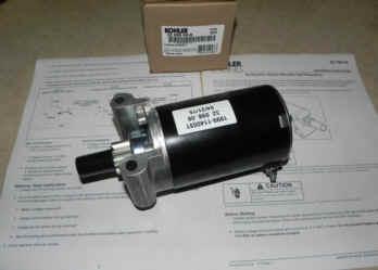 Kohler Electric Starter - Part Number 32 098 08-S