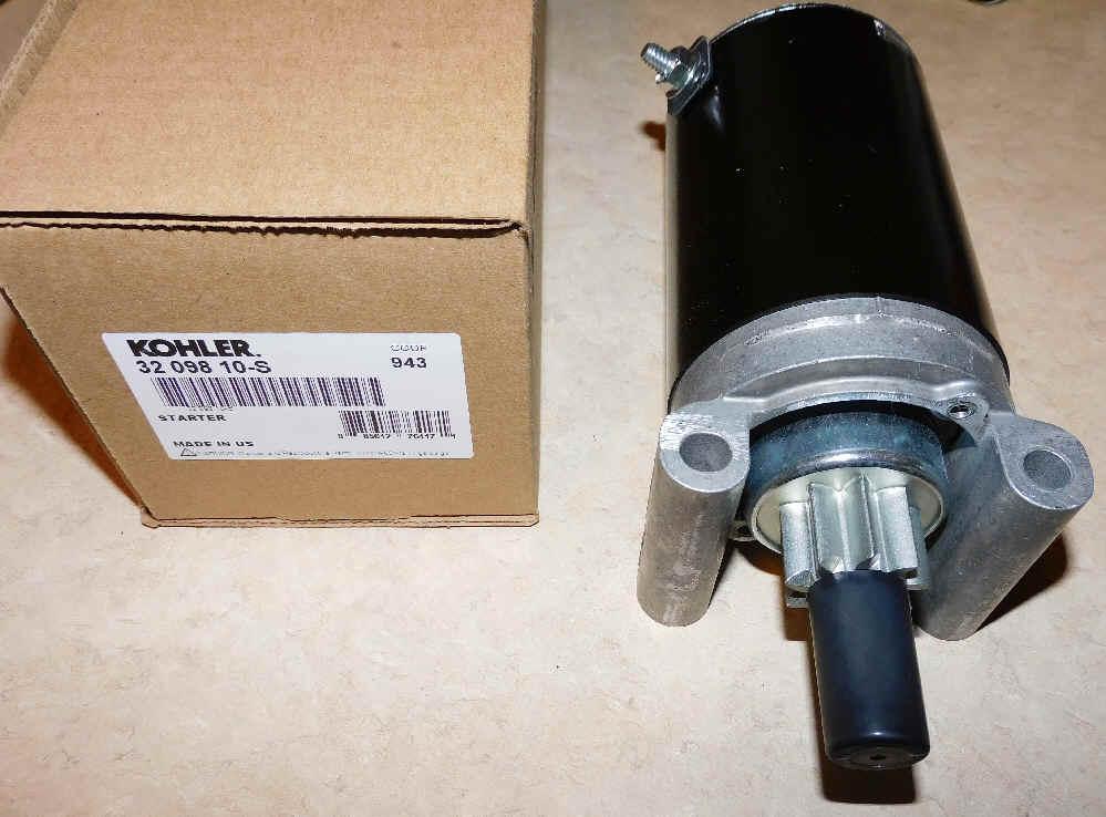 Kohler Electric Starter - Part Number 32 098 10-S