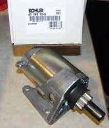 Kohler Electric Starter - Part Number 45 098 10-S
