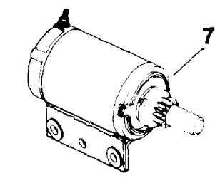 Kohler Electric Starter - Part Number 45 098 11-S