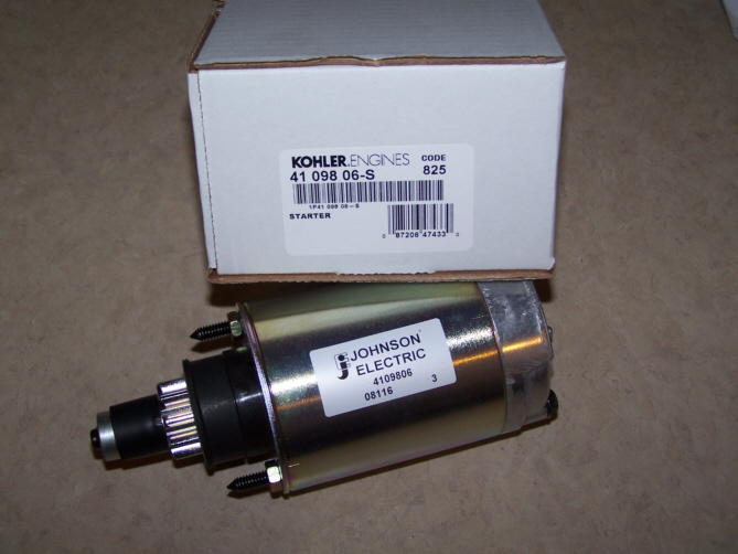 Kohler Electric Starter - Part Number 41 098 06-S