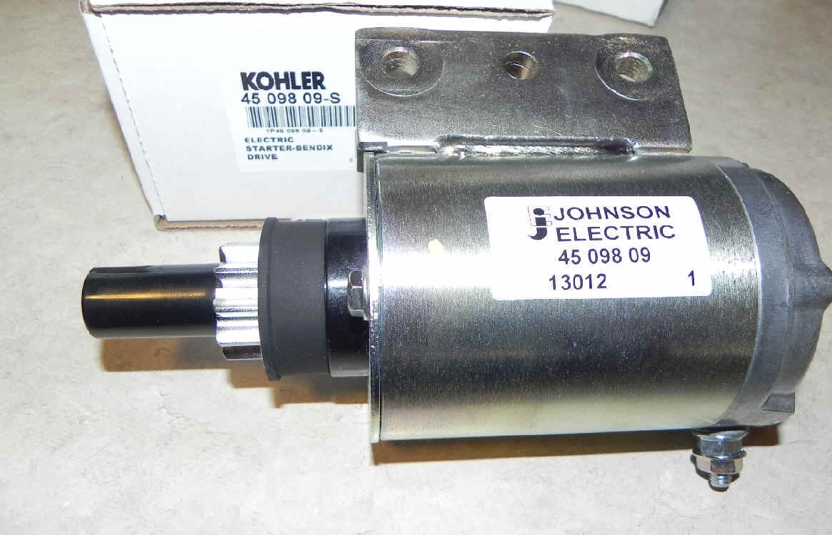 Kohler Electric Starter - Part Number 45 098 09-S