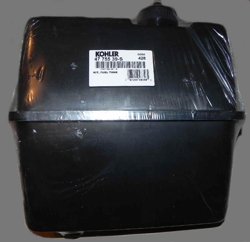 Kohler Fuel Tank Part No. 47 755 39-S