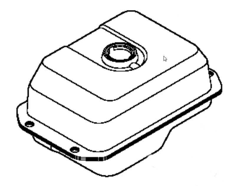 Kohler Fuel Tank Part No. 63 065 01-S
