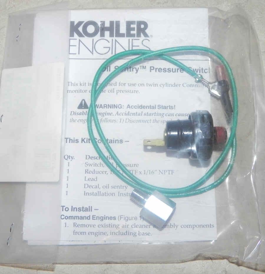 Kohler Oil Pressure Switch 52 704 01-S