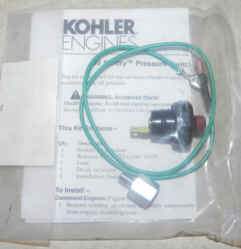 Kohler Oil Pressure Switch 52 704 01-S
