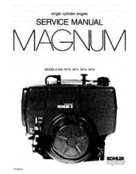 Kohler Service Manual TP-2203-A For M8-16 Engines