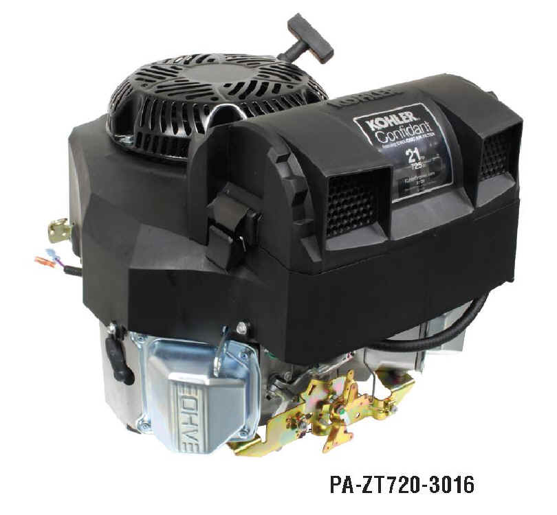 KOHLER CONFIDANT ZT720-3016 21 HP WAWB Recoil Start Engine
