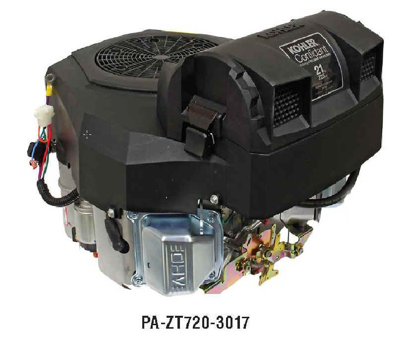 KOHLER CONFIDANT ZT720-3017 21 HP WAWB Electric Start Engine