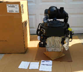 ECV740-3036 25 HP KOHLER COMMAND PRO EFI ENGINE