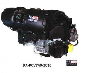Kohler PCV740-3016 Command EFI Propane Series