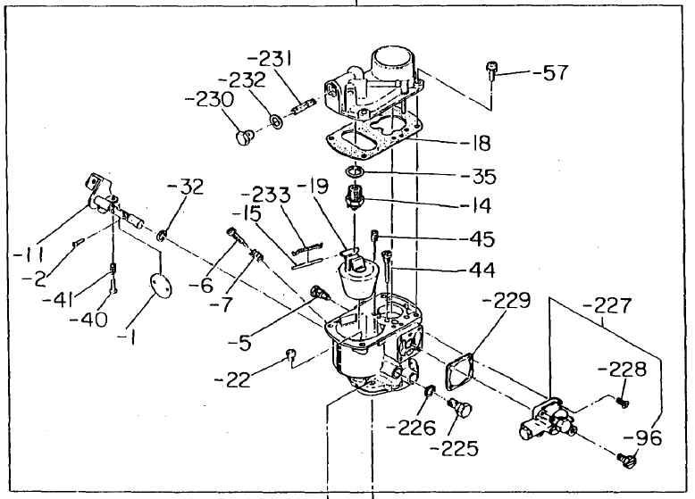 Robin Carburetor Part No. 210-62301-10