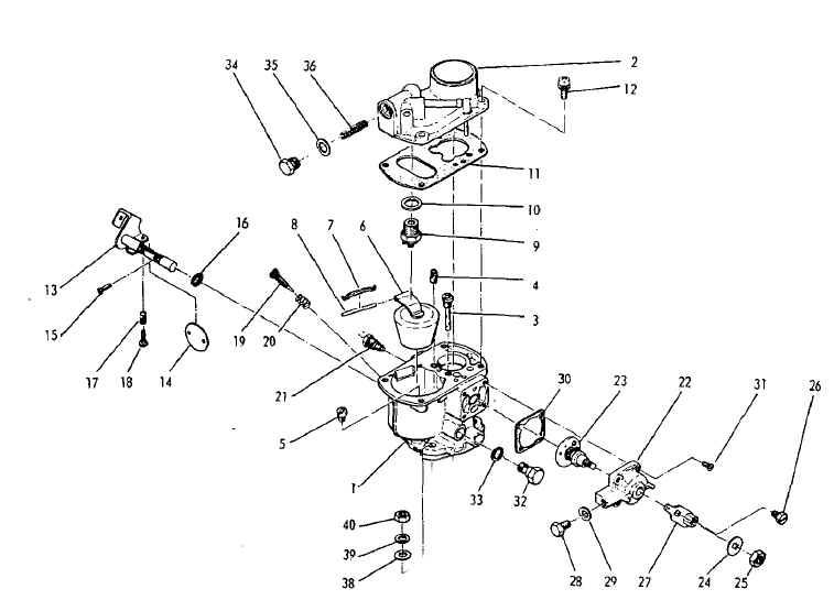 Robin Carburetor Part No. 210-62308-00