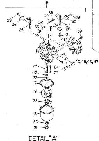 Robin Carburetor Part No. 237-62301-10