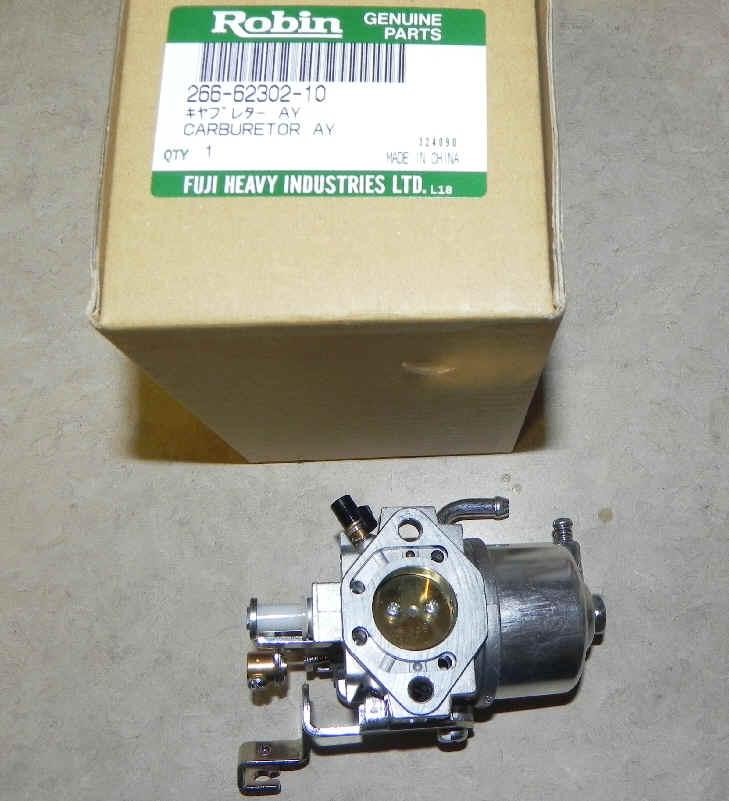 Robin Carburetor Part No. 266-62302-20