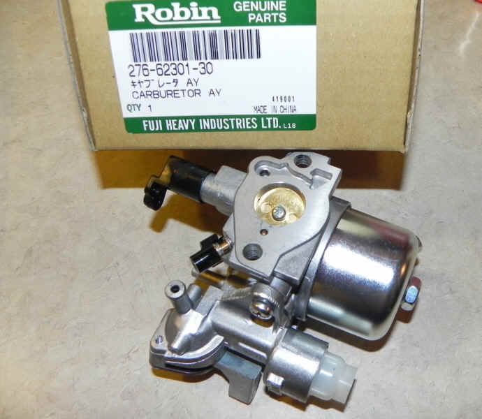 Robin Carburetor Part No. 276-62301-60