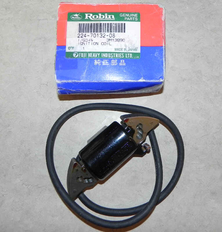 Robin Ignition Coil Part No. 224-70132-08