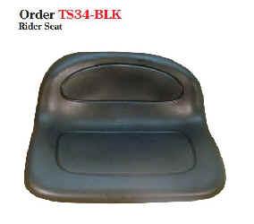 Black Seat TS38-BLACK