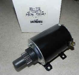 Tecumseh Electric Starter Model 36680 NKA 33-712