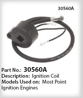 Tecumseh Ignition Coil Part No. 30560A NKA 33-363