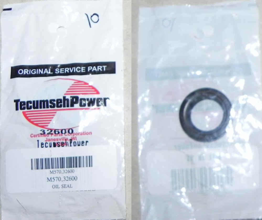 Tecumseh Oil Seal - Part No. 32600