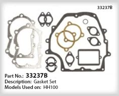 Tecumseh Gasket Set - Part No. 33237B