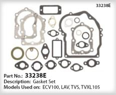 Tecumseh Gasket Set - Part No. 33238E