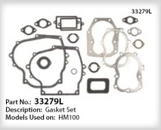 Tecumseh Gasket Set - Part No. 33279L