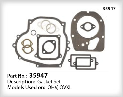 Tecumseh Gasket Set - Part No. 35947