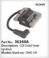 Tecumseh Ignition Coil Part No. 36344A