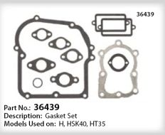 Tecumseh Gasket Set - Part No. 36439