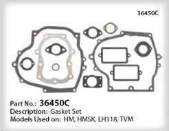 Tecumseh Gasket Set - Part No. 36450C