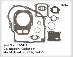 Tecumseh Gasket Set - Part No. 36567 ** Backordered