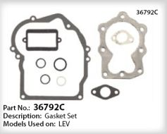 Tecumseh Gasket Set - Part No. 36792C