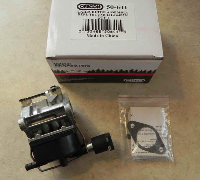 Tecumseh Carburetor Part No.  50-641 AKA 640330A