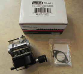 Tecumseh Carburetor Part No.  50-641 AKA 640330A