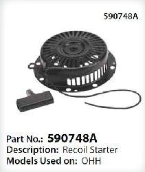 Tecumseh Recoil Starter 590748