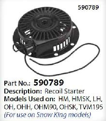 Tecumseh Recoil Starter 590789