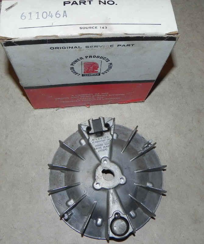 Tecumseh Flywheel - Part No. 611046A