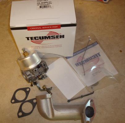 Tecumseh Carburetor Part No.  631660A