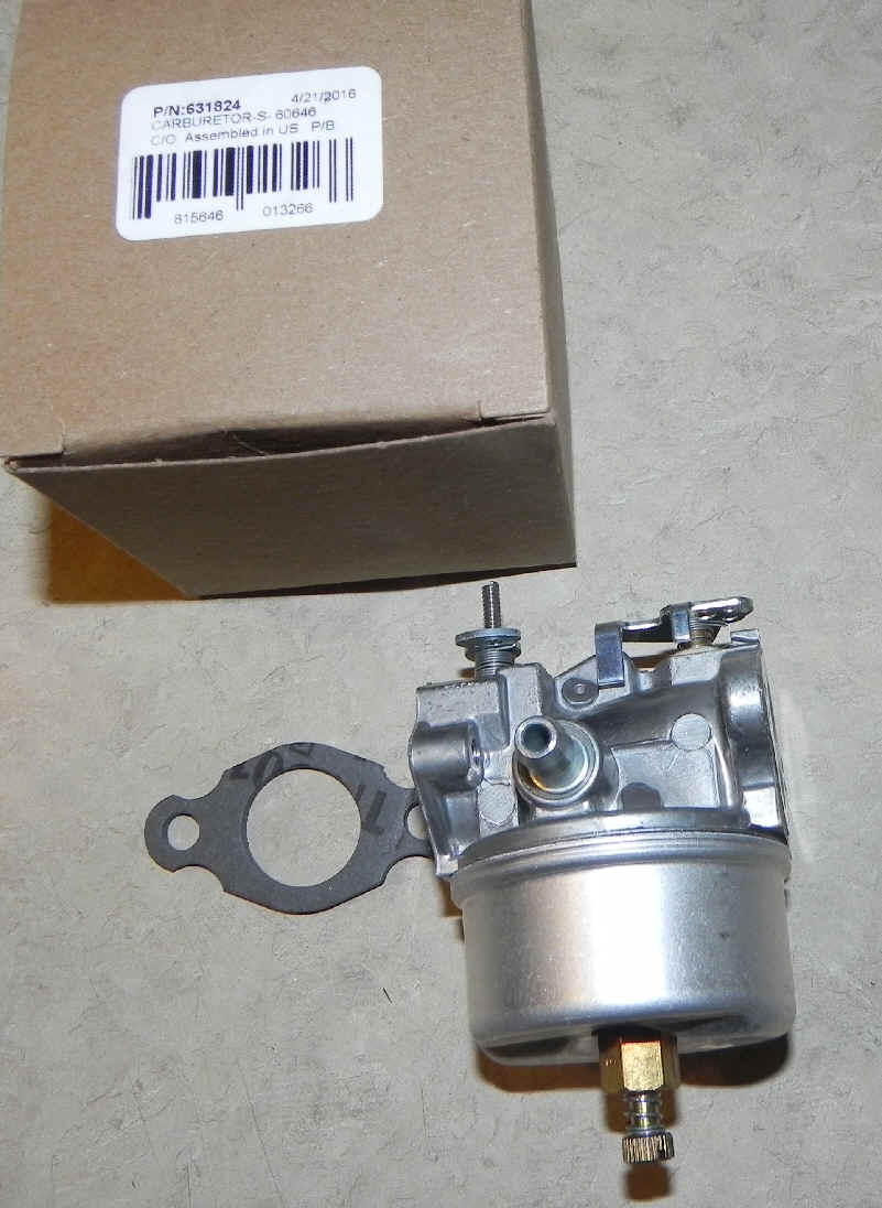 Tecumseh Carburetor Part No. 631824