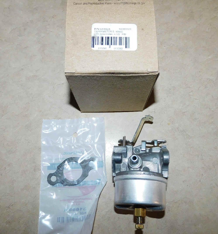 Tecumseh Carburetor Part No.  631828 AKA 631067