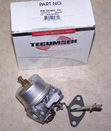 Tecumseh Carburetor Part No.  631923